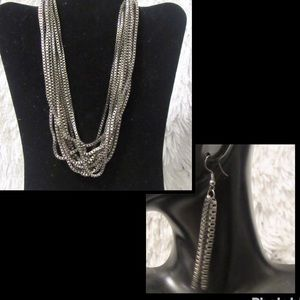 Jewelry - statement necklace and earrings 3 for $25